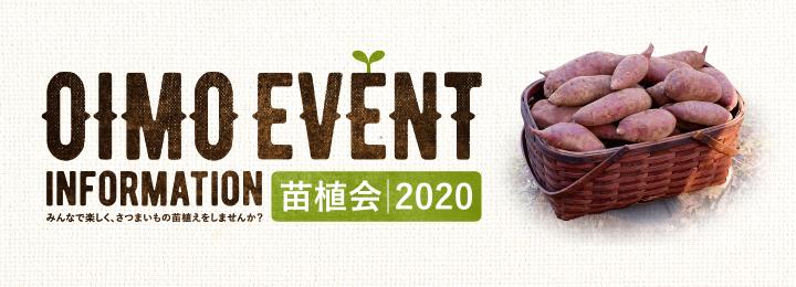 おいも株 オーナー制度 苗植会2020